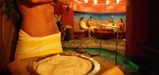 sauna bezoeken
