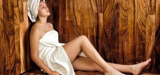 Afkoelen na sauna